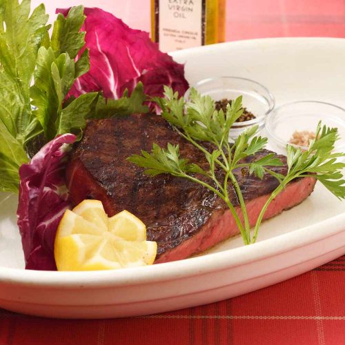 RED PEPPER 恵比寿店のステーキ