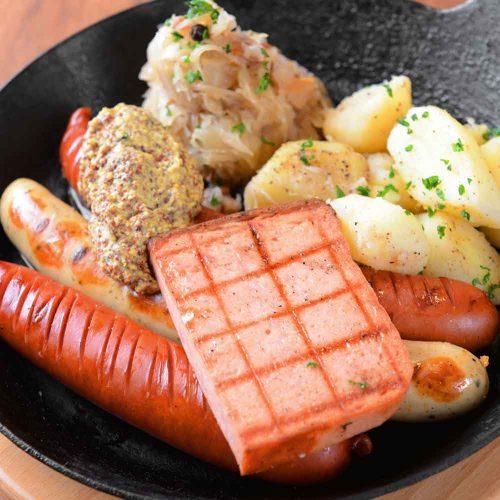 ドイツビアレストラン カイザーホフの料理