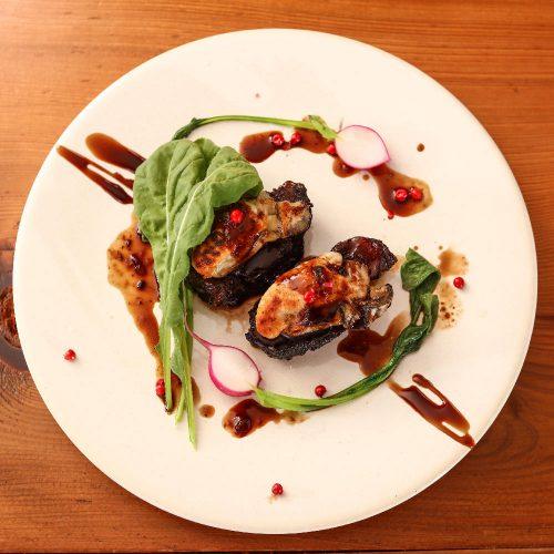 新宿 牡蠣スター、牡蠣ソテー