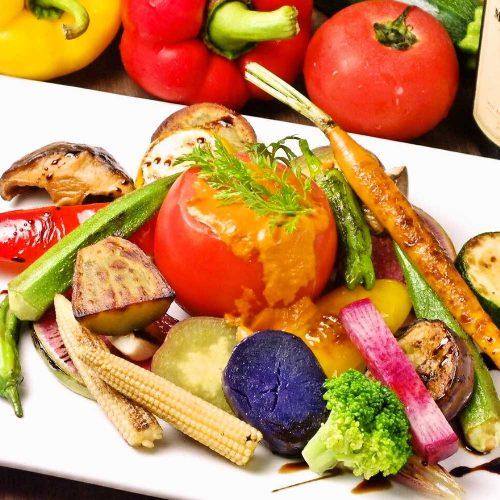 オーガニックイタリアンバル La sana 神楽坂店、野菜
