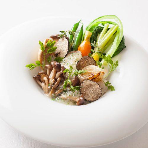 Chez TAKA HIGASHIAZABUの料理