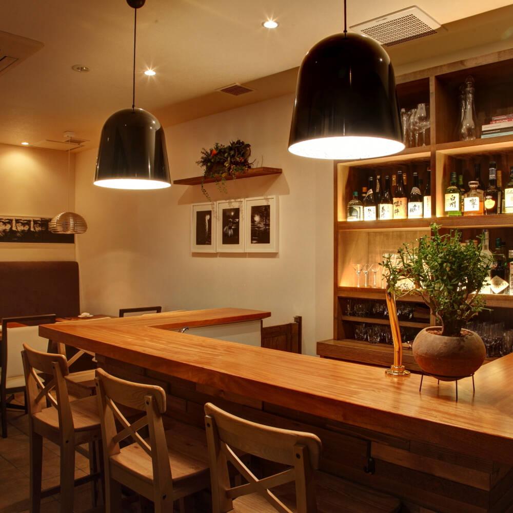 Chez TAKA HIGASHIAZABU、店内