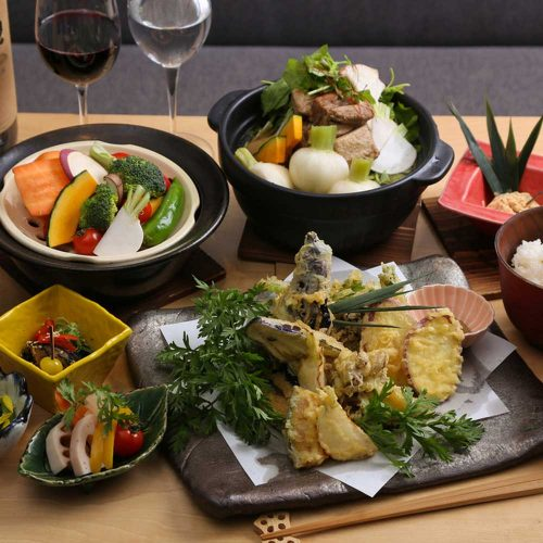 京 お野菜バル めい 表参道ヒルズ店、料理