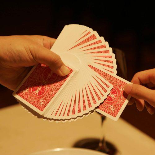 マジックレストラン&バーGIOIA 銀座のマジック