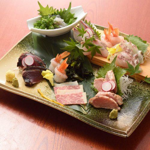 魚魯魚魯 渋谷宮益坂店、刺身
