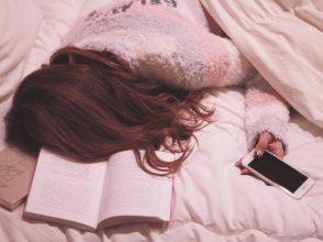 ベッドでしてること