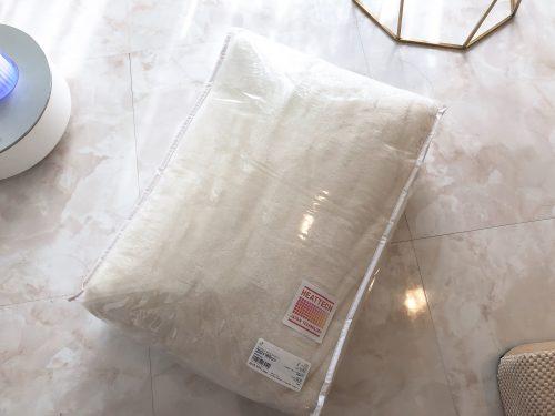 ユニクロのヒートテック毛布