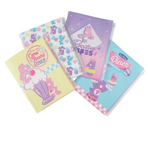 Care Bears ケアベア クリアファイル6ポケット+1ファスナー