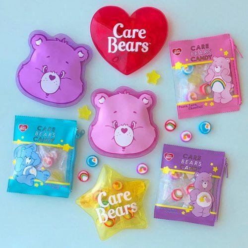 Care Bears ケアベア キャンディポーチ 全8種類 各¥756(税込)