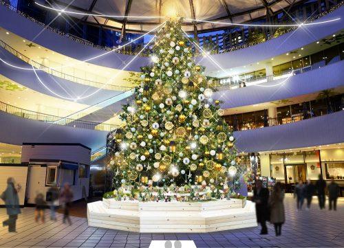 「横浜ベイクォーター クリスマスイルミネーション」