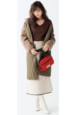 今年っぽい配色でキルティングコートをNotほっこり!