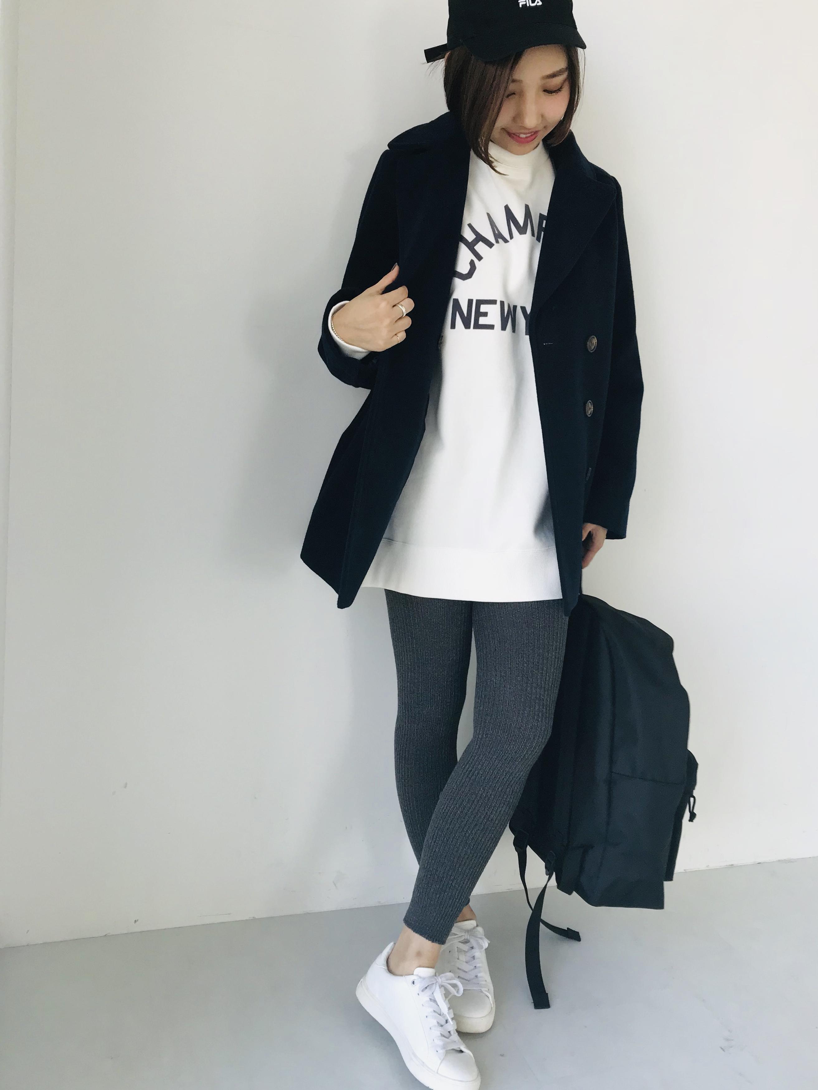 ¥4,990のPコート,プチプラ