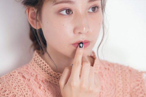 ■韓国コスメのティントリップを使った赤茶メイク