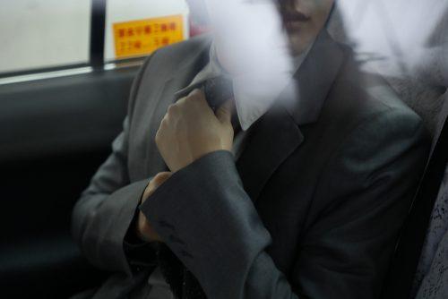 神木隆之介、タクシー、横顔