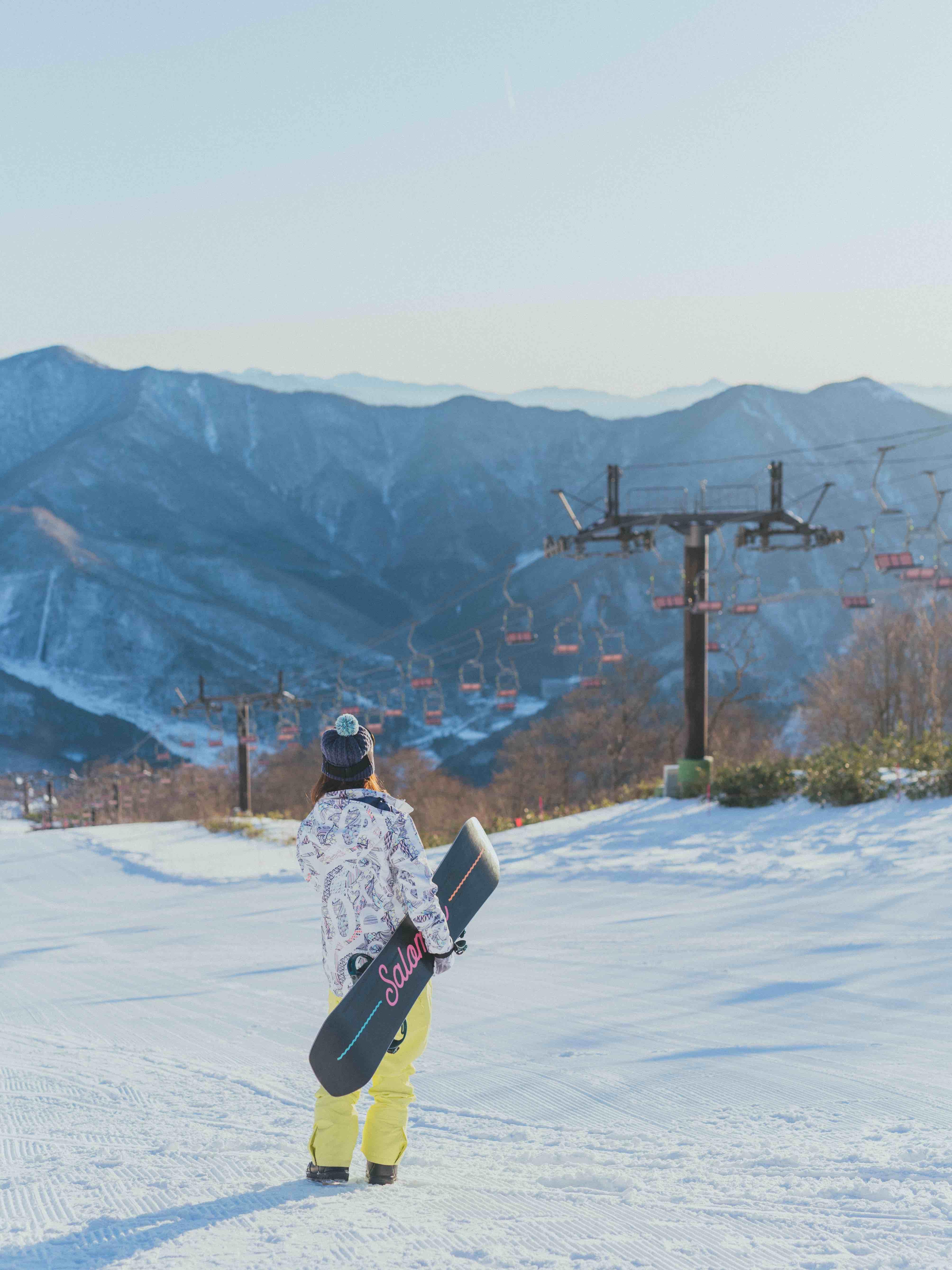 スノーボード、苗場、苗場スキー場