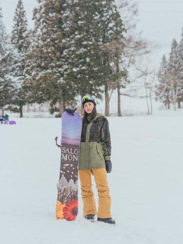 スノーボード、白石明美、アビー