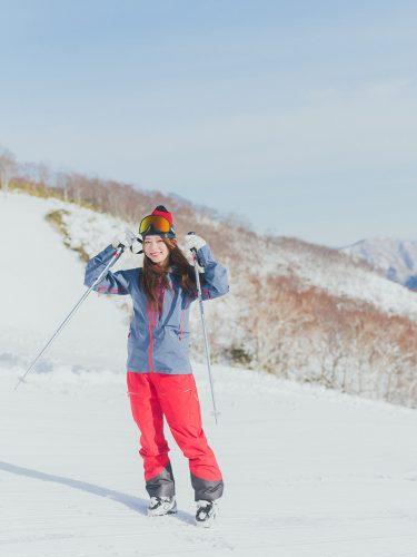 竹本萌瑛子、スキー