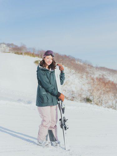 スキー、柳田菜月