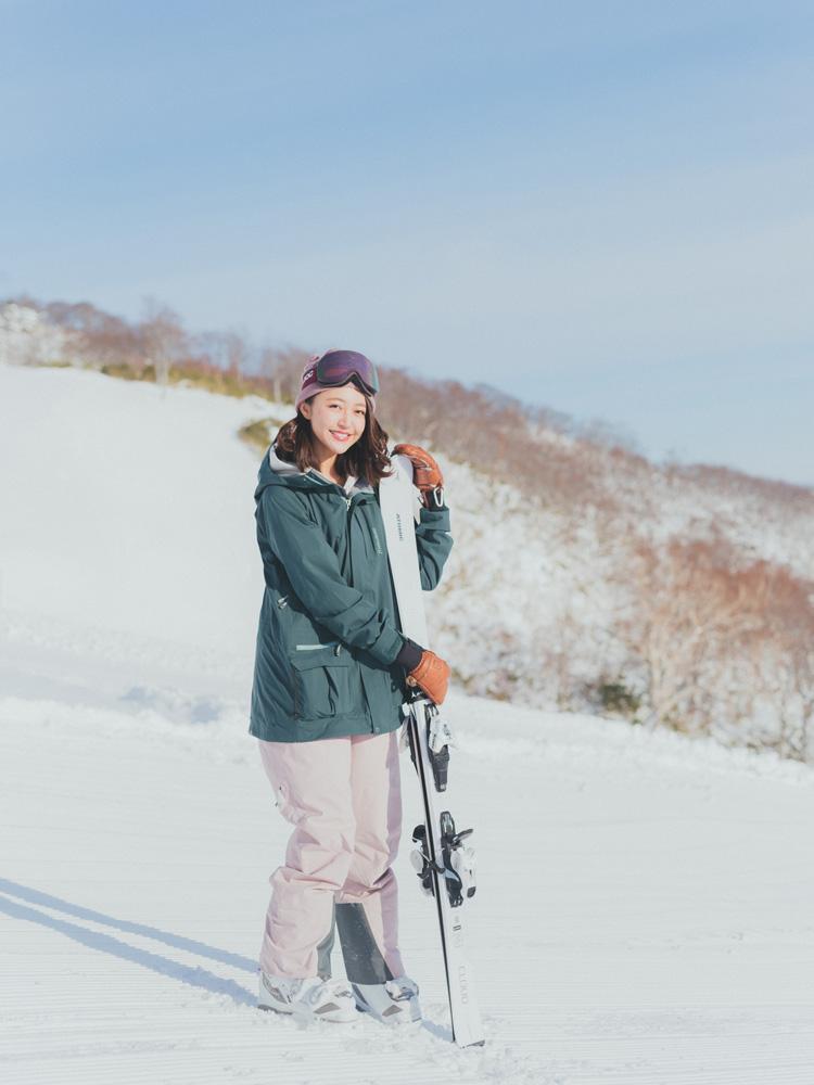スキーSNAP CanCam it girl柳田菜月