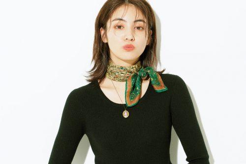 楓、スカーフ、カメオ、ヴィンテージ