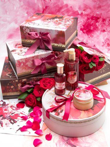 Roses speak for the heart Gift Set