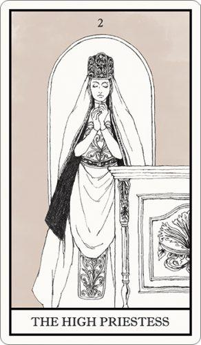 タロット占い,女教皇