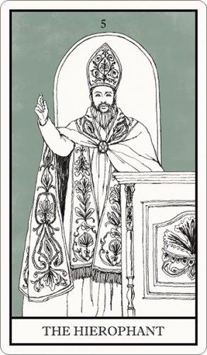 タロット占い,教皇