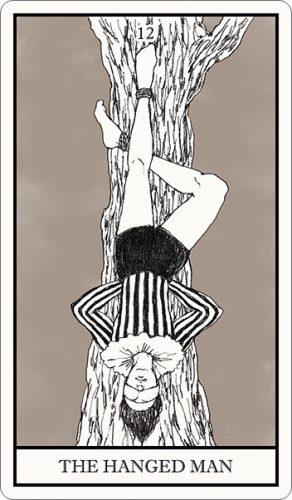 タロット占い,吊るされた男