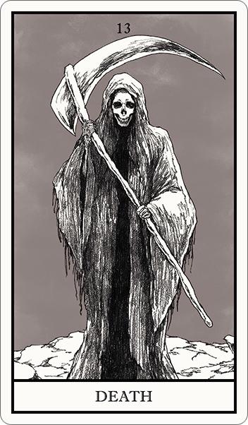 タロット占い,死神