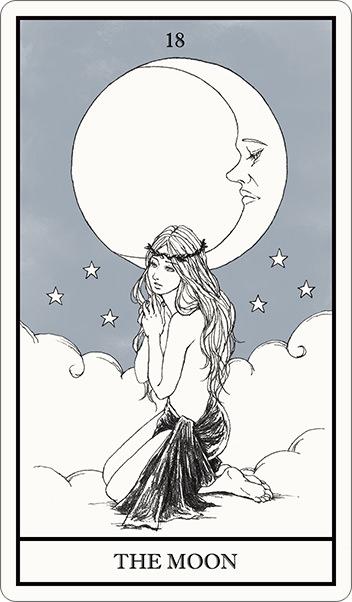 タロット占い,月