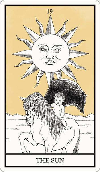 タロット占い,太陽