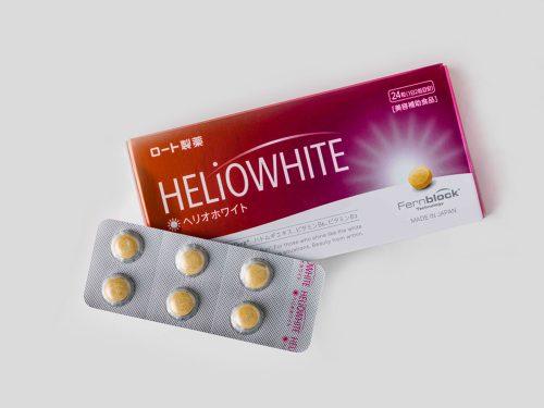 ■ロート製薬 ヘリオホワイト〈24粒〉