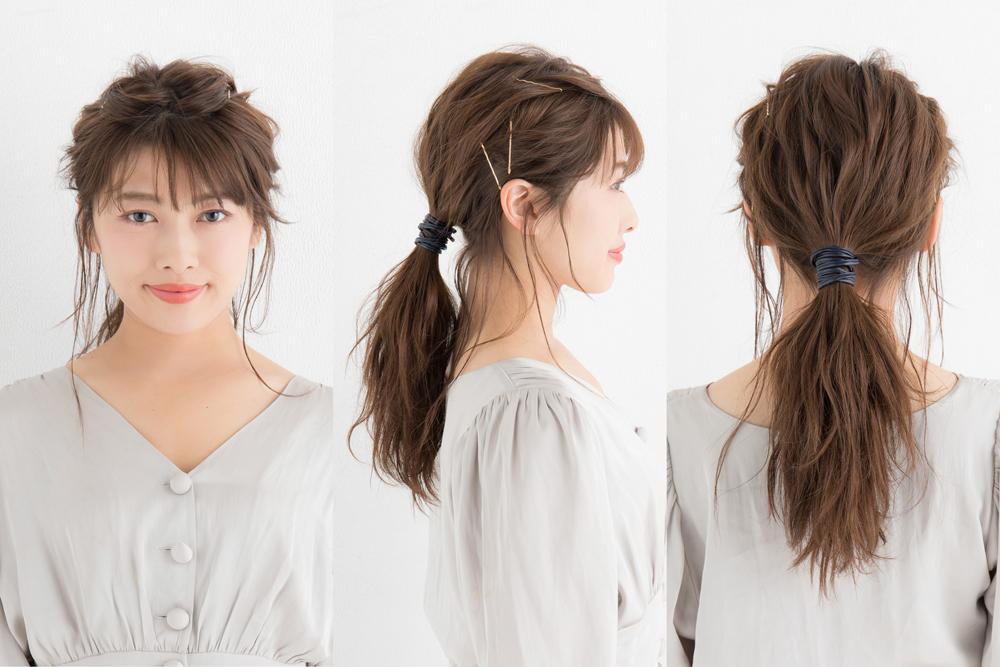 ◆ニュアンシーな後れ毛♡ポニーテール