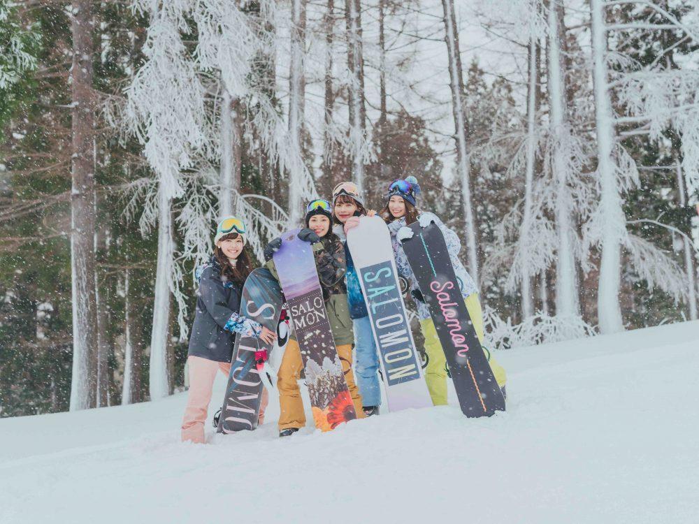スキー スノボ CanCam it girl 雪