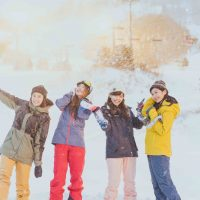 CanCam it girl スキー スノボ スノー CanCam SNOW GIRL Project 雪