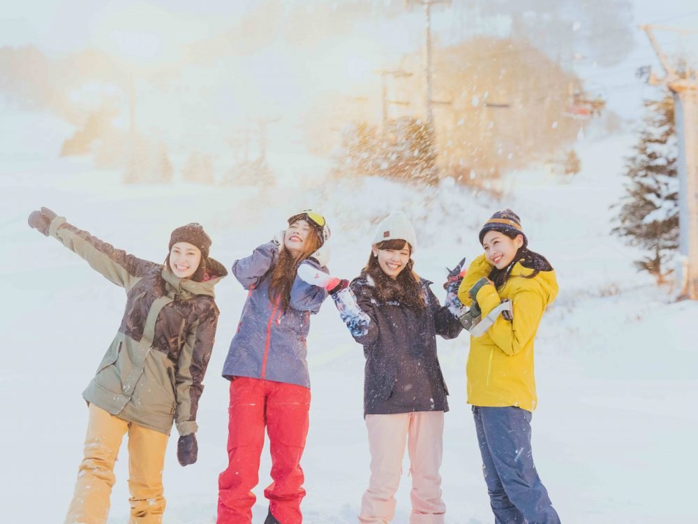 CanCam it girl スキー スノボ スノー CanCam SNOW GIRL Project 雪