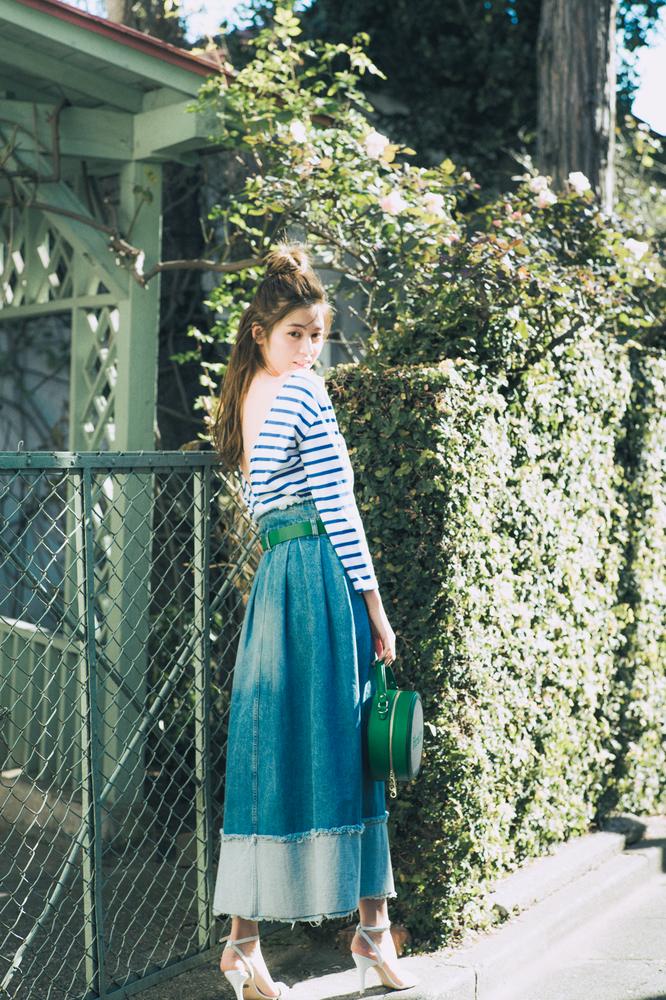 【楓の春色ダイアリー】着るたび海を感じる、コバルトブルー