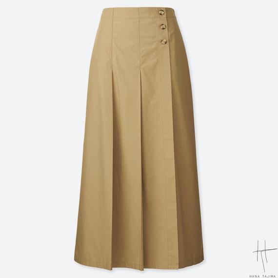 ユニクロ UNIQLO 春の新作 スカート