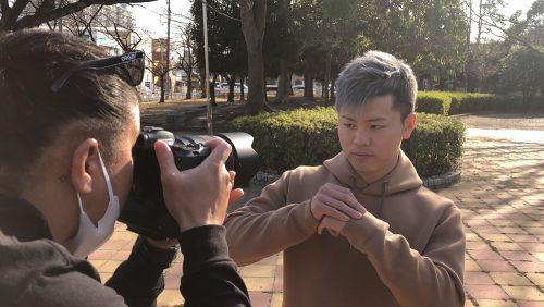 那須川天心、撮影、バックステージ