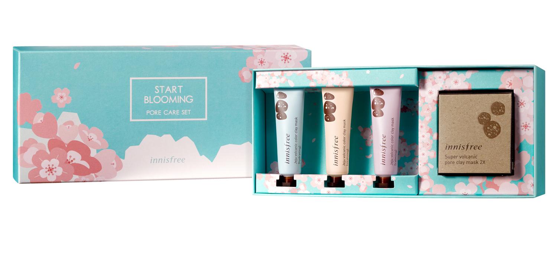 innisfree-Start-blooming-pore-care-set★