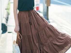 E-girls楓のロングスカート