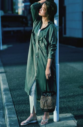 楓の私服、SLYのワンピース