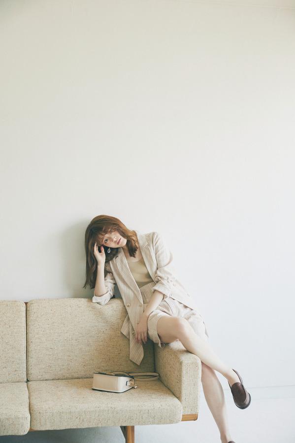 沙友理は大人ベージュでモテ♡カジュアル