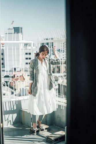 堀田茜の私服、ジャケット