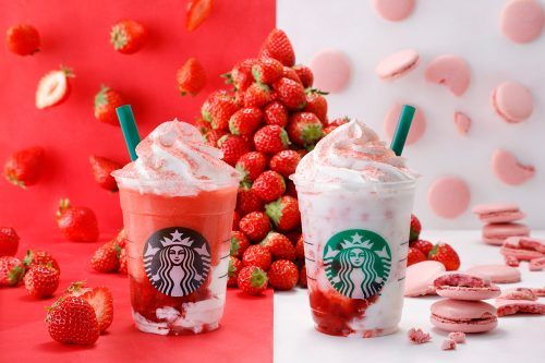 スターバックス、#STRAWBERRYVERYMUCHFRAPPUCCINO®