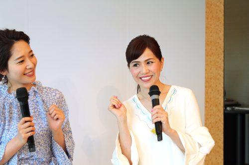 印象評論家の重田先生とフリーアナウンサー吉田明生さん