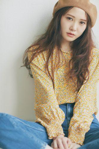 加藤史帆は女の子デニムでモテカジュアル!