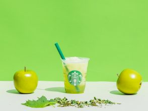 ティバーナTM フローズン ティー 香る煎茶 × グリーン アップル
