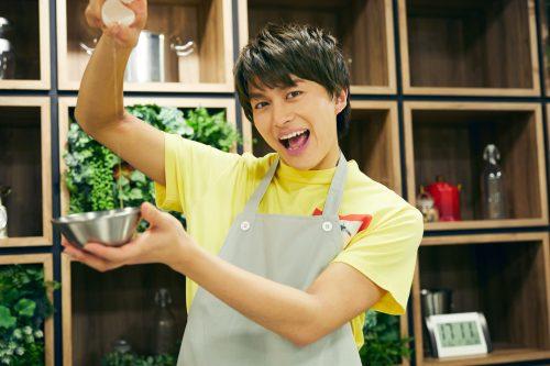 BOYS AND MEN 小林豊 ボイメン ゆたクッキング 卵を割る