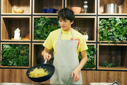 ボイメン 小林豊 ゆたクッキング パセたまスパゲッティ パスタに味付け